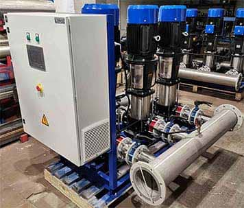 насосная станция повышения давления воды